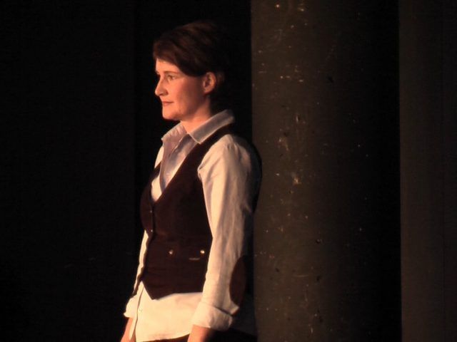 Agnes Müller als Corinne in