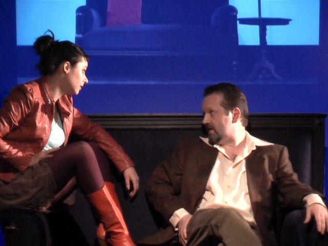 Birgit Becker als Rebecca und Raimund Becker-Wurzwallner als Richard