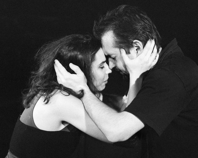Birgit Becker und Raimund Becker-Wurzwallner spielen Medea von Euripides in Berlin und in der Kulturbäckerei Lüneburg