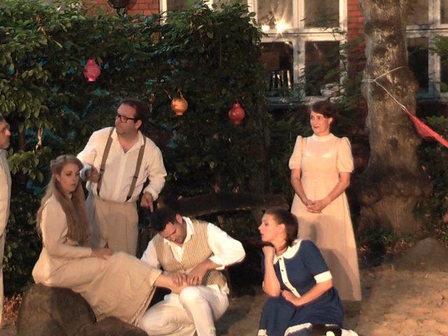 Sommertheater in Lüneburg, Eine Mittsommernachtssexkomödie von Woody Allen