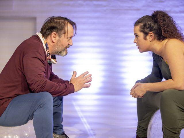 Raimund Becker-Wurzwallner, Sophie Aouami, Foto: Andreas Tamme