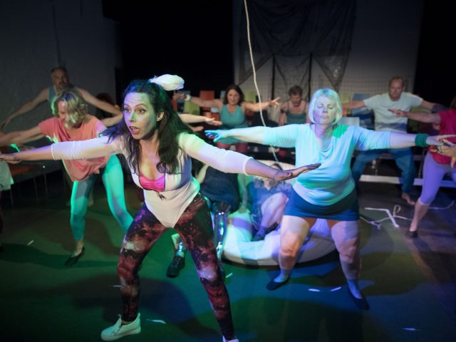 Crossfit, Pilates, Theater zur weiten Welt